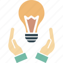 creative idea, idea development, idea generation, innovative idea icon