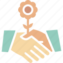 business partner, businessmen, deal, partnership icon