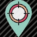 market segmentation, target campaign, target marketing, targeted advertising icon