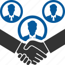 broker, dealer, agreement, contract, deal, meeting