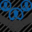 broker, dealer, agreement, contract, deal, meeting icon
