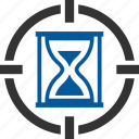 expiry, glass, goal, sand icon