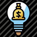 creative, excellent, finance, idea, investment icon