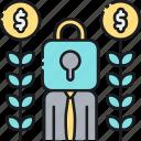 investor, offering, private, private investor, private offering icon