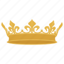 crown, king crown, prince, prince crown, royal crown icon