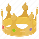 crown, king crown, prince, prince crown, royal crown icon