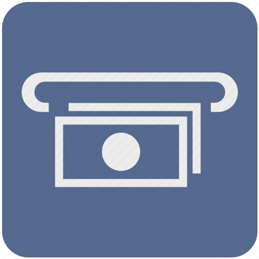 atm, bank, cash, cashout, dollar, money, wayfind icon