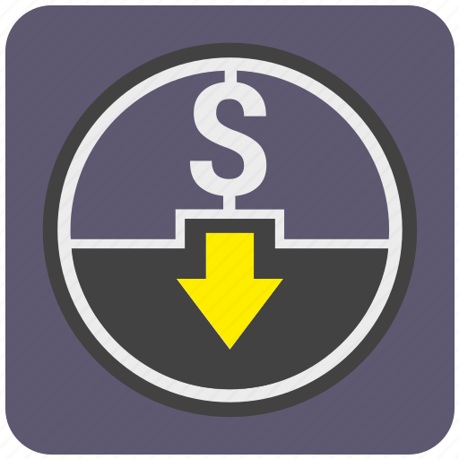 atm, cash, cashout, dollar, money, out, payment icon
