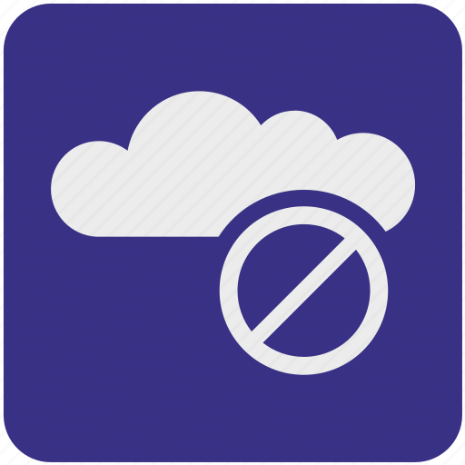 closed, cloud, data, network, service, storage icon