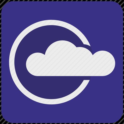 cloud, data, network, platform, service, storage, weather icon