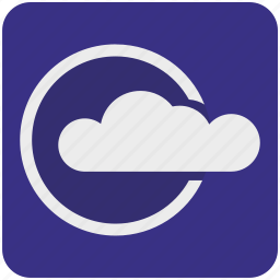 cloud, data, platform, server, service, storage, weather icon