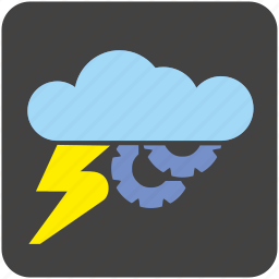 cloud, data, network, platform, service, storage, weather icon