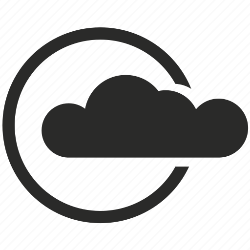 cloud, data, service, storage, upload, weather icon