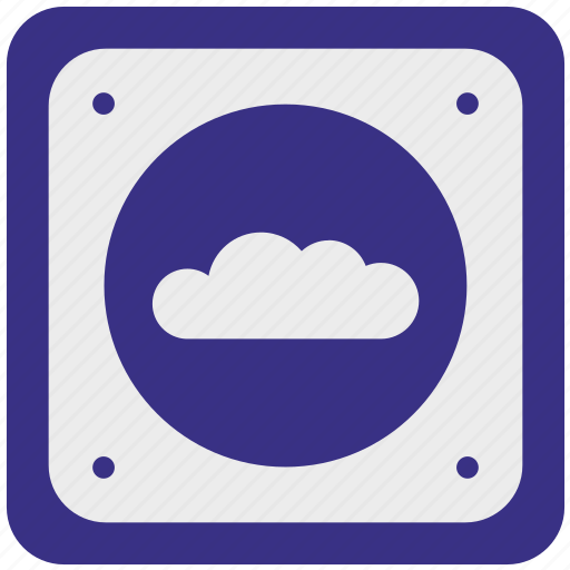 cloud, data, network, paas, service, storage, weather icon