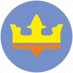 crown, game, king, leader, monarch, winner icon