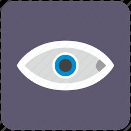 care, diagnosis, eye, eyesight, search, view, vision icon