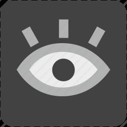 care, diagnosis, eye, eyesight, see, view, vision icon
