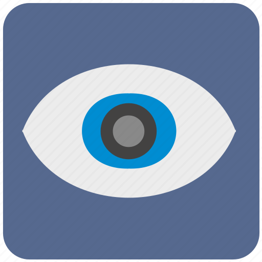 care, eye, eyesight, ophthalmology, search, view, vision icon