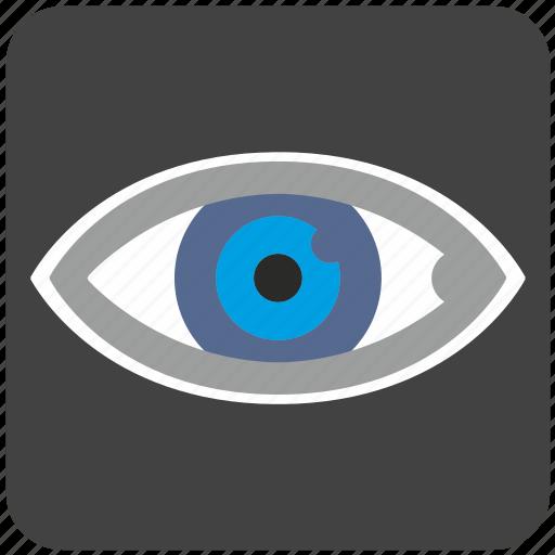 care, diagnosis, eye, eyesight, organ, view, vision icon