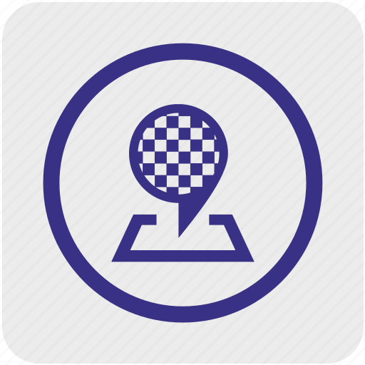finish, game, goal, mission, point, race, target icon