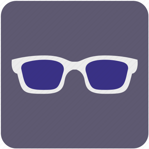 cinema, eye, eyeglasses, eyewear, glasses, shop icon