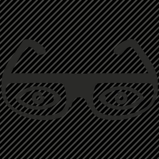 eye, eyeglasses, eyewear, glasses, store, view icon