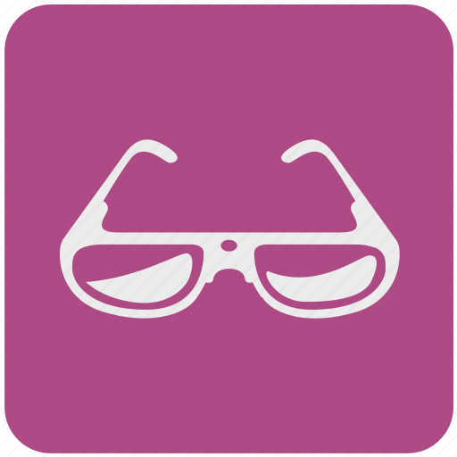 eye, eyeglasses, glasses, protective, shop, view, vision icon