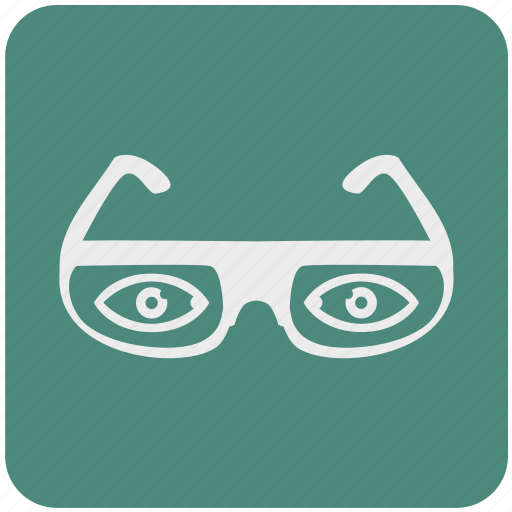 eye, eyeglasses, glasses, search, shop, store, view icon