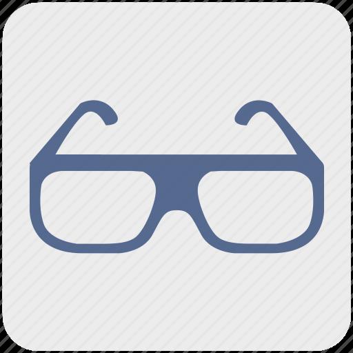 eye, eyeglasses, eyewear, fashion, glasses, shop, view icon