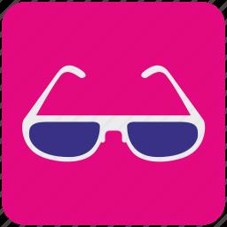 eye, eyeglasses, eyewear, glasses, shop, store, vision icon