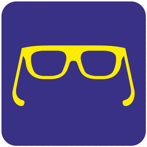 eye, eyeglasses, eyewear, glasses, spectacles, view icon