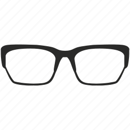 eye, eyeglasses, eyewear, glasses, spectacles, view, vision icon