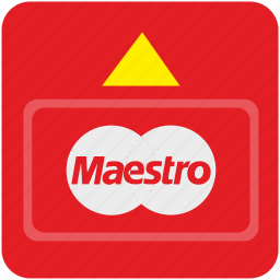atm, bank, card, cash, credit, maestro, payment icon