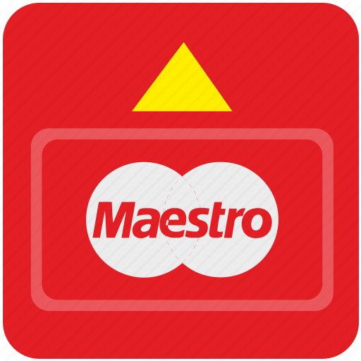 bank, card, cash, credit, maestro, money, payment icon