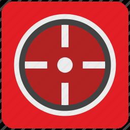 click, cursor, game, goal, mouse, pointer icon