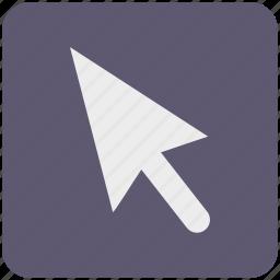 arrow, click, cursor, goal, location, mouse, pointer icon