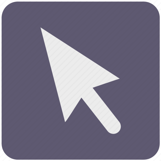 arrow, click, cursor, goal, location, mouse, pointer icon