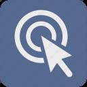 arrow, click, cursor, goal, internet, mouse, pointer icon