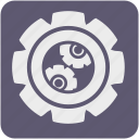 app, equipment, gear, options, settings, tool, tools icon