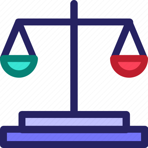 balance, economy, finance, fintech, law, office, sue icon