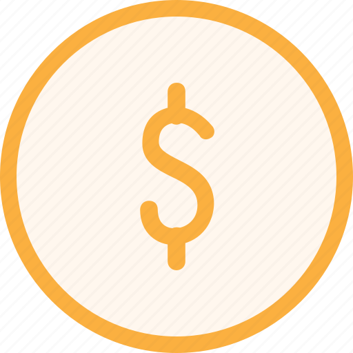 coin, dollar, economy, finance, fintech, money, office icon