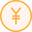coin, economy, finance, fintech, money, office, yen icon