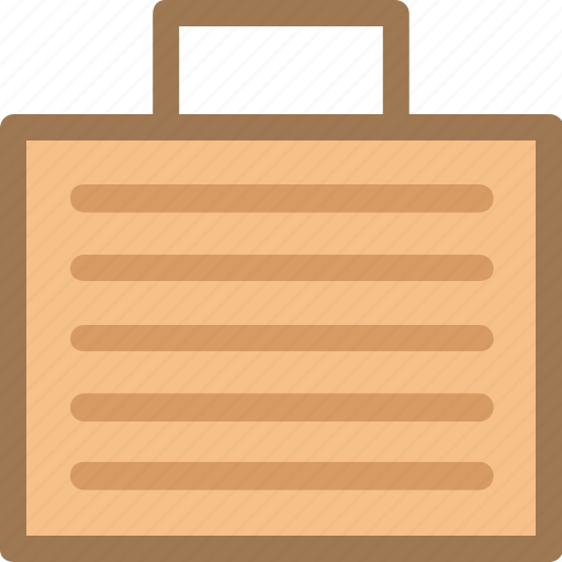bag, briefcase, economy, finance, fintech, office, work icon