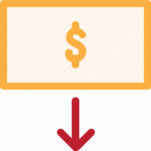 cash out, economy, finance, fintech, money, office, withdrawal icon