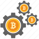 bank, bitcoin, coin, crypto, currency, digital, platform icon