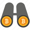bank, bitcoin, coin, crypto, currency, digital, transperncy icon