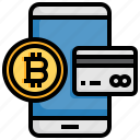 card, payment, bitcoin, cryptocurrency, money, mining