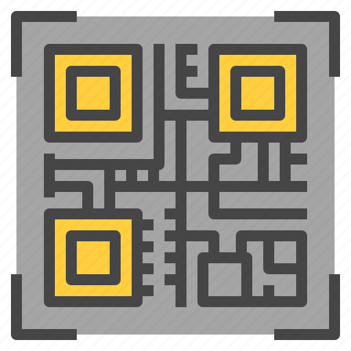 address, bitcoin, qrcode, scan, wallet icon
