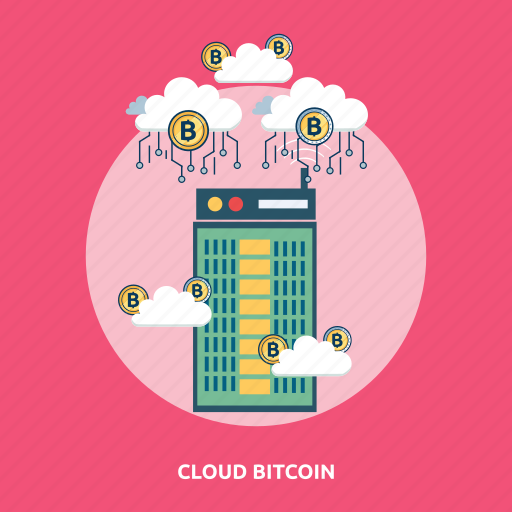 bitcoin, cloud, coin, cryptocurrencies, finance, gold, money icon