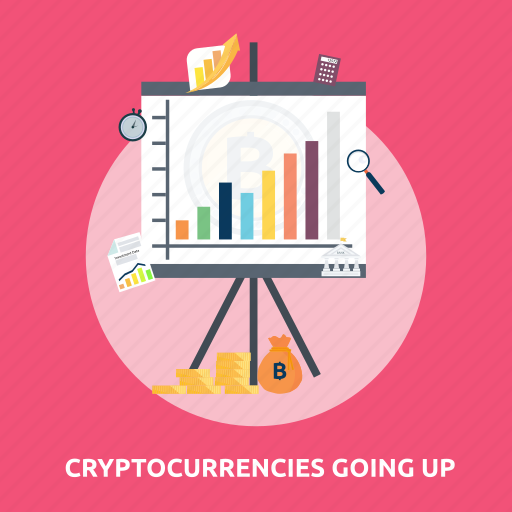 bitcoin, chart, coin, cryptocurrencies, finance, gold, money icon